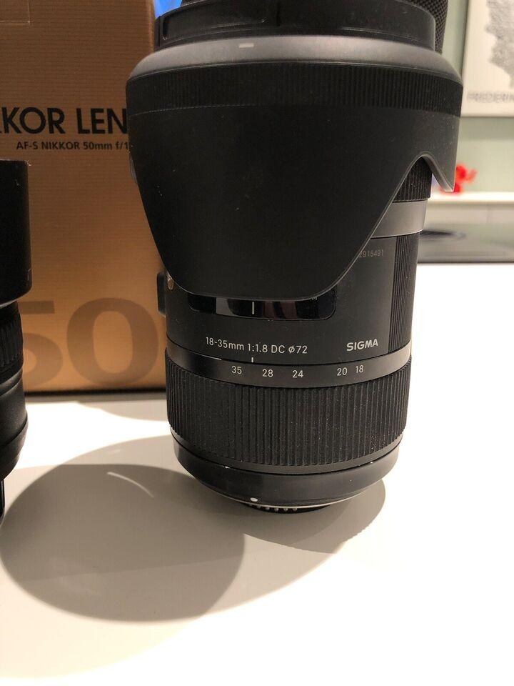 Nikon Nikon D810, spejlrefleks, 36,6 megapixels