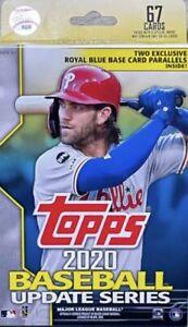 2020 Topps Update MLB Baseball Hanger W/o Box 67 Card Pack Factory Sealed SeePic