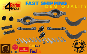 Ford-Focus-MK1-MK2-C-Max-Suspension-Trasera-Espoletas-Brazos-Arbustos-Kit-Set-vinculos-Ful