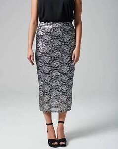 New-Season-Grazia-Lace-Pencil-Skirt-uk-size-12-ref-hw-136-RRP-38