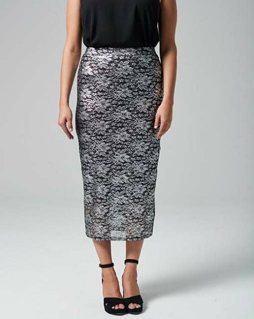 New Season Grazia Lace Pencil Skirt uk size 20 (ref hw 136 ) RRP £38