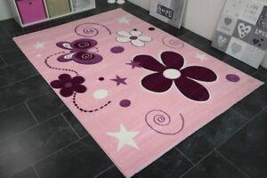 Teppich Schmetterling Rosa ~ Kinderteppich schmetterling rosa moderner teppich top qualität ebay