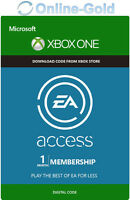 Ea Access Xbox One 1 Monat Mitgliedschaft Abo Key - 1 Month Subscription Code