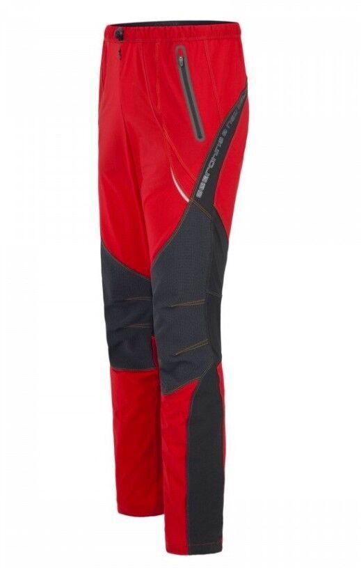 Montura Free K Pants Men  leichte elastische Kletterhose für Herren  rot