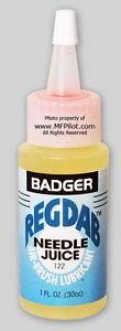 Badger-039-REGDAB-039-NEEDLE-JUICE-Airbrush-Lube-1oz-30cc-Bottle-with-Tip-122-NEW