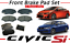 Genuine Honda Pad Set Front  CIVIC Si Coupe// Sedan 45022-TR7-A01