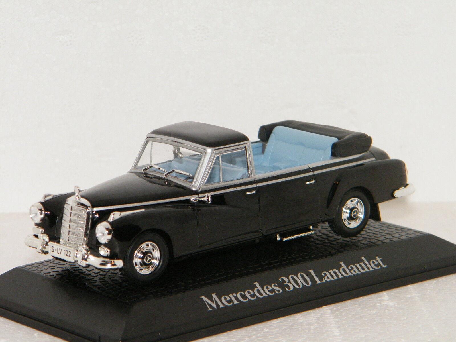 MERCEDES 300 D LANDAULET Adenauer 1963 NOREV 1 43 Ref 351232