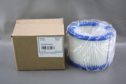 Original-Nilfisk elemento de filtro cartucho para Attix aspirador 302000490-302000461
