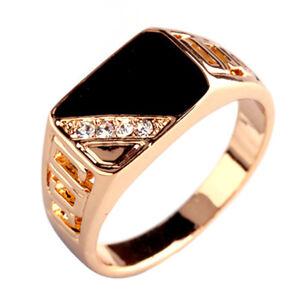 Triangulo-de-cristal-del-esmalte-hombres-anillo-de-acero-inoxidable-rhinestone