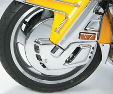 Show Chrome - 52-654 - Chrome Front Rotor Covers 2001-2010/2012 Honda GL1800