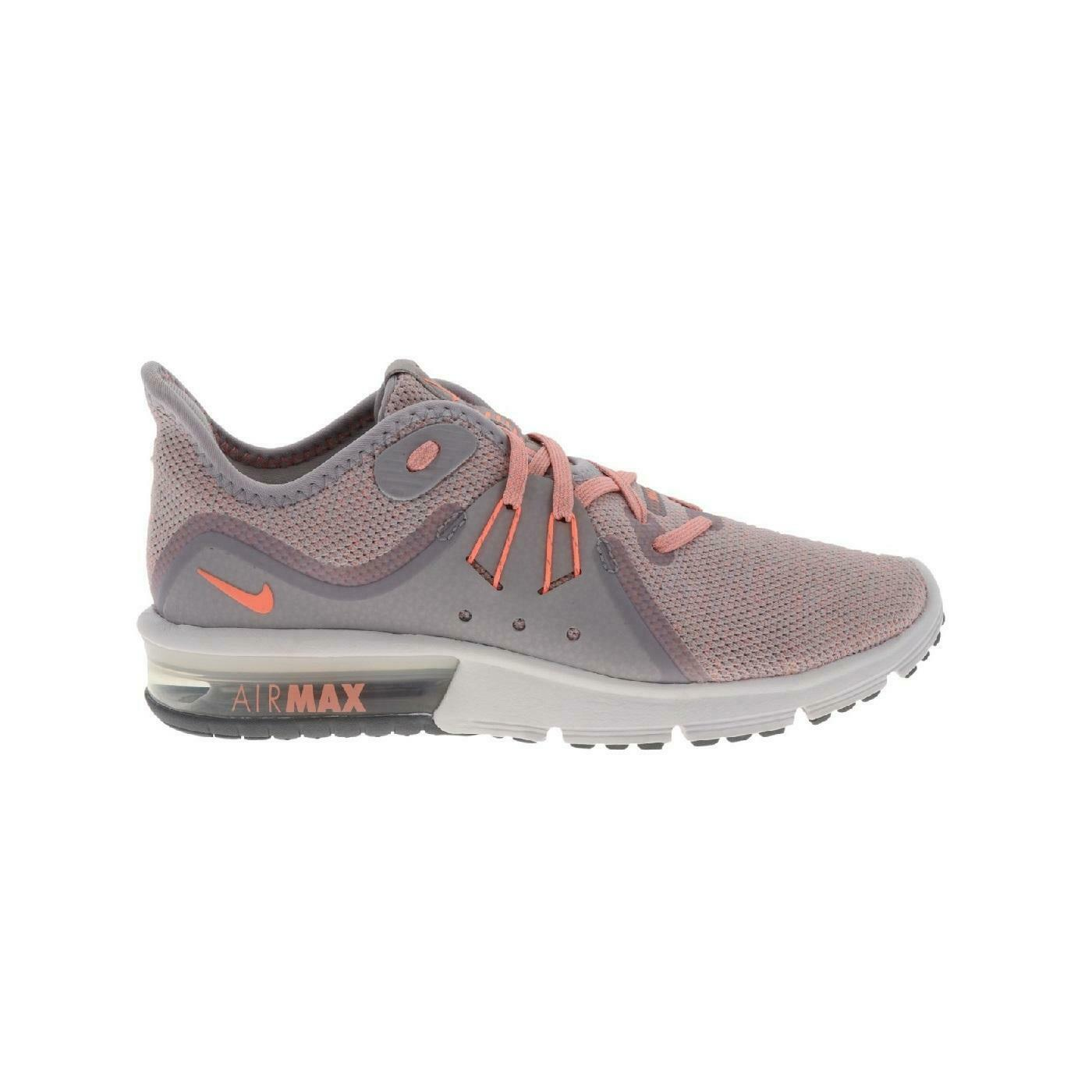 damen NIKE AIR MAX SEQUENT 3 Atmosphere grau Trainers 908993 016