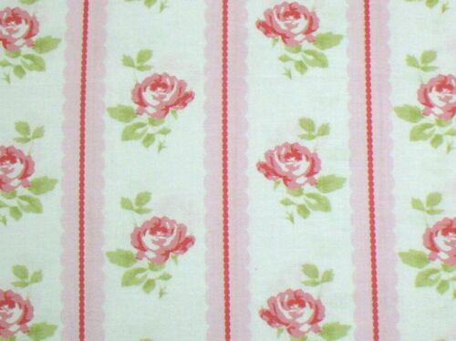 Tanya Whelan Cottage Shabby Chic Lulu Roses Lilah Rose Stripe PWTW096-Pink BTY