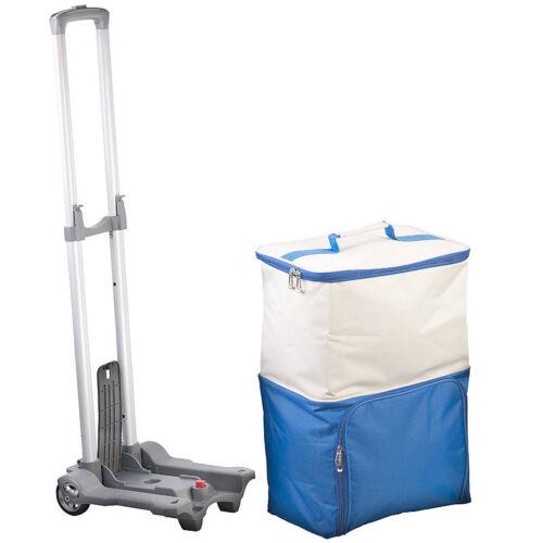 45 Liter Xcase 2in1-Einkaufs-Tasche mit abnehmbarem Trolley und Kühltasche
