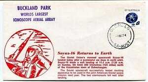 1974 Soyuz 16 Returns Earth Soviet Union Spacecraft Buckland Ionoscope Australia