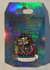 Disney Pin DLR Diamond Decades Collection: Chip & Dale It's a Small World LE New