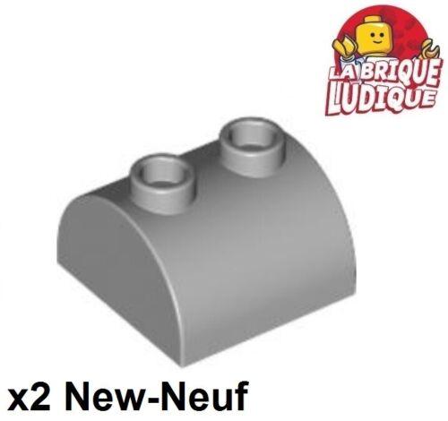 Lego stecker grau/l b gray 30165 neu 2x Ziegel geändert 2x2 gebogen Top 2