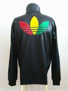 Détails sur Adidas Rasta Jamaica Chile 62 Rare Retro Vintage Track Jacket S Bob Marley