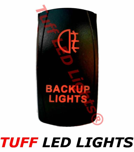 Tuff LED Lights - Two Way Red Backup Lights Rocker Switch
