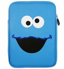 Tablet/Standard iPad/eBook/ Sleeve Zipped Case  Sesame Street COOKIE MONSTE
