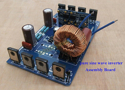 1000W Pure Sine Wave Inverter Power Board Sine Wave Amplifier Board DIY kits