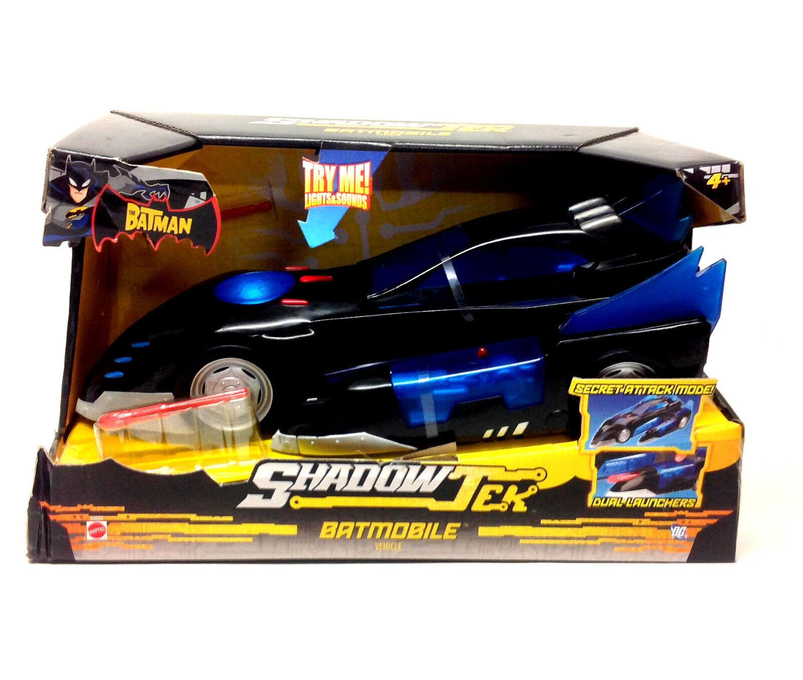 Dc comics batman shadotek batmobil auto licht und sound fx - spielzeug fr 5.