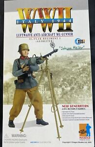 DRAGON-Models-WWII-Johann-Meiler-Luftwaffe-Anti-aircraft-Gunner-70720-Figure-NIB