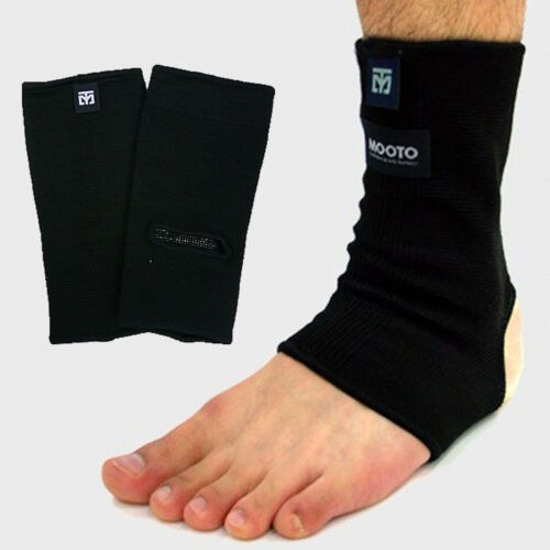 Mooto Ankle Support Braces Supporters Protectors Cotton Blend Sports MMA TKD HKD