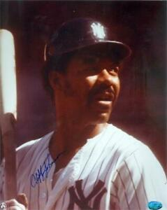 Cliff Johnson autographed 8x10 Photo (New York Yankees) Image #2