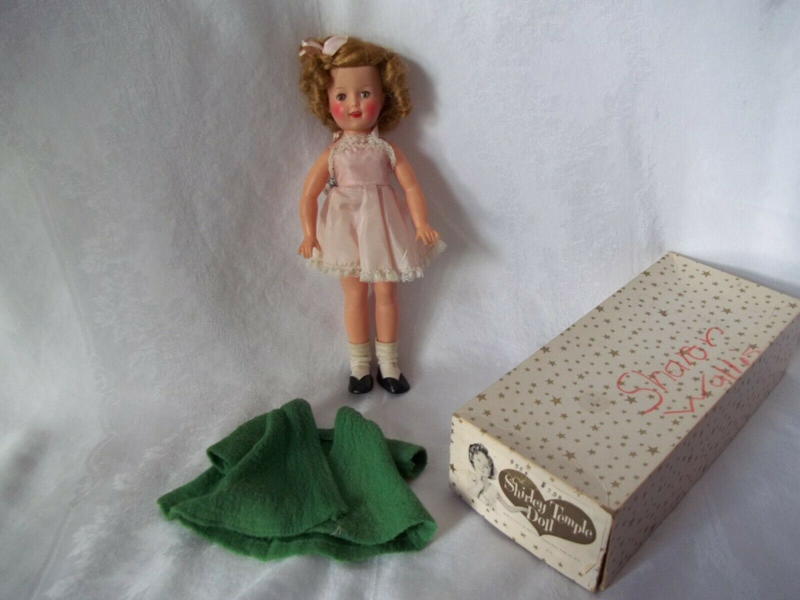 1950's Ideal 12  Shirley Temple Doll No. 9500 w Box Shirley Temple Clothes