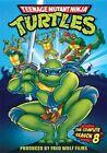 Teenage Mutant Ninja Turtles Season 8 Series Eight Eighth Region 1 DVD
