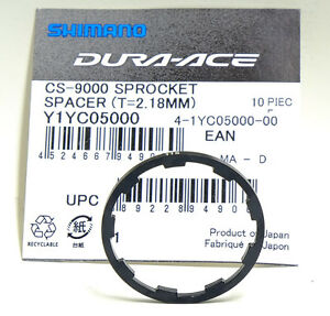 Shimano Dura-Ace CS-9000 11 Speed Sprocket//Cassette Spacer, 1 Pce T=2.18MM