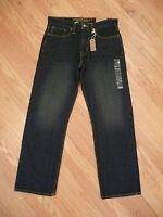 Mens Ae American Eagle Loose Fit Dark Sand Denim Jeans Size 31 X 32