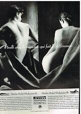 Publicité Advertising 1992 Le Matelas Pirelli Bedding