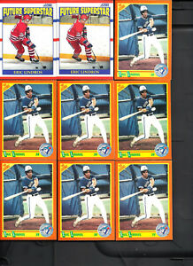 50-Card-Eric-Lindros-Lot-Score-Trd-Canada-Capt-Score-RC-Playoff-All-Scanned