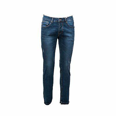 Jeans pantaloni denim uomo slim fit cinque tasche  42 44 46 48 50 52