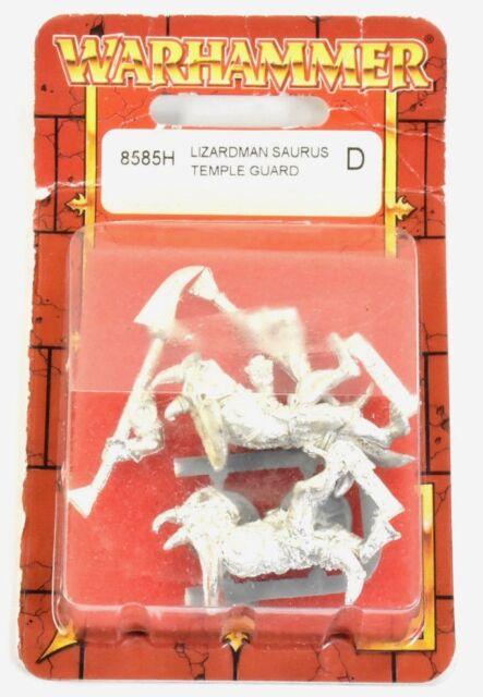 LIZARDMEN Saurus temple guard NEW NIB Warhammer Fantasy METAL