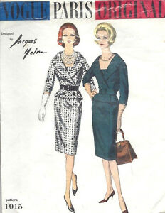 1956 Vintage Sewing Pattern B34 DRESS 1469