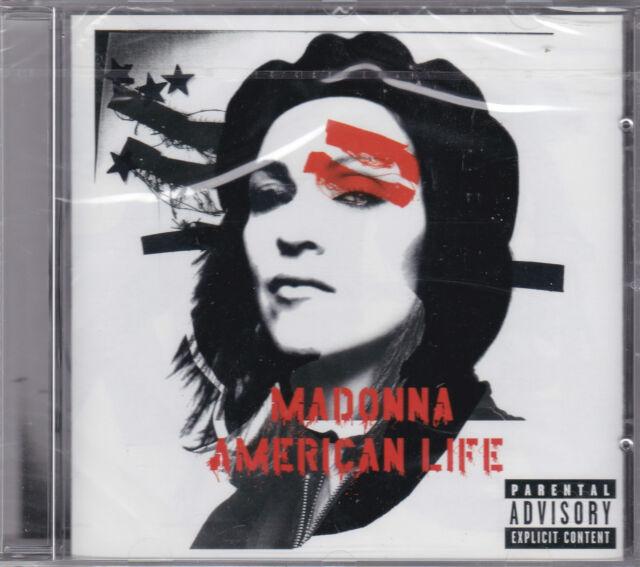 CD 11 TITRES MADONNA AMERICAN LIFE DE 2003 NEUF SCELLE ENHANCED CD