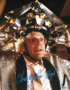 CHRISTOPHER-LLOYD-SIGNED-11X14-PHOTO-BACK-TO-THE-FUTURE-DOC-BROWN-AUTO-BECKETT-C
