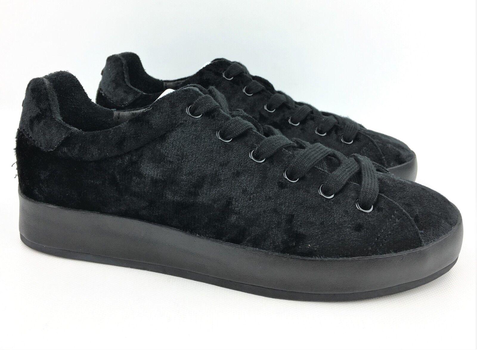 Rag & Bone Bone Bone para mujeres RB1 Negro Terciopelo Baja Zapatillas Talla  36   US 6 -  325  tienda hace compras y ventas