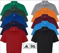 Adidas - Golf Climalite Basic Polo - A130 - Adidas Men Golf Shirts Sizes S - 3xl
