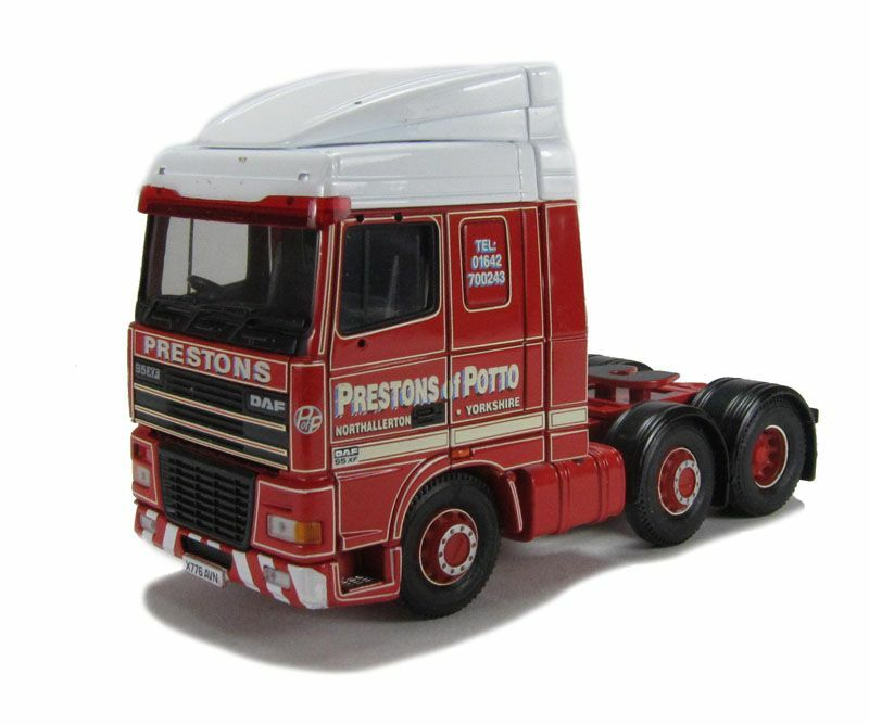 Corgi Modern Heavy Haulage CC13208 DAF95 Solo Unit Prestons of Potto 1 50 Scale