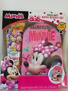 Brand New Disney Junior Minnie Mouse Bath Buddy Set Ebay