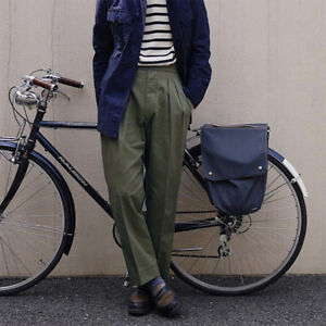 Vintage-Gurkha-Pants-UK-Army-Men-039-s-Military-Chino-Staight-Taper-Casual-Trouser