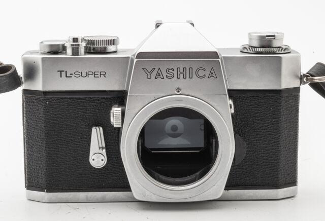 Yashica TL-Super Gehäuse Body Spiegelreflexkamera SLR Kamera silber