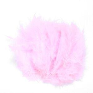 100pcs-Fluffy-Marabou-Feathers-Party-Wedding-Trim-Trimming-Decor-DIY-8-15-c-Z8C1