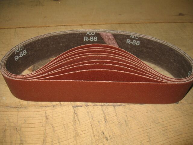 "2 x 28/"" sanding//grinding belts to fit Eastwood grinder//sanders Asst 9 pc"