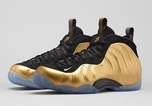 437dd15925060 Nike Air Foamposite One Metallic Gold Black NOW SHIPPING yezzy ...