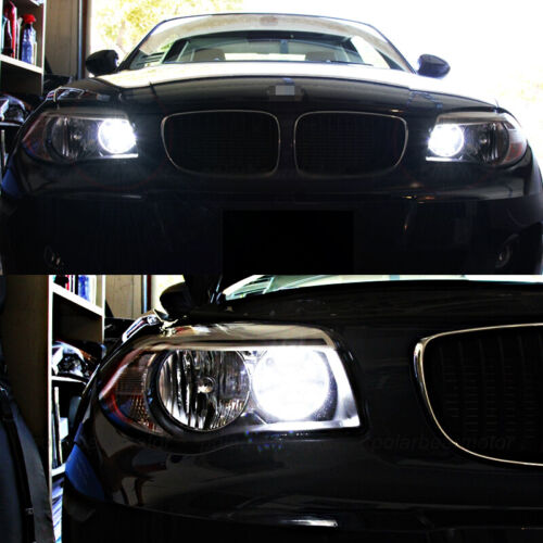 No Error HID White H7 27-SMD LED Bulbs for BMW 3 5 Series Daytime Running Lights