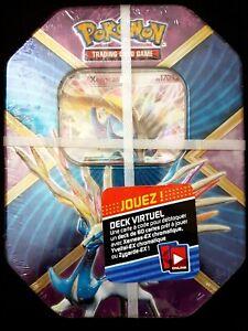 BOITE-TIN-BOX-POKEBOX-POKEMON-XERNEAS-EX-XY-149-4-BOOSTERS-NEUF-carte